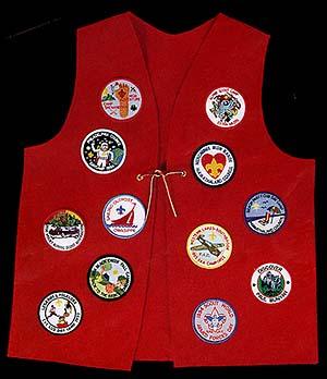 patch vest for boy scouts
